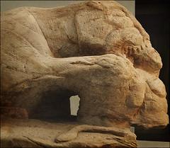 The Cramond Lioness (dun_deagh) Tags: statue museum scotland edinburgh roman almond scottish nationalmuseumofscotland celtic lioness nms robertgraham riveralmond cramond galloroman romanstatue cramondlioness celticmonstermyths headdevouringmotif