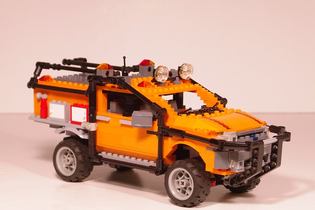 auto ford car fire model ranger lego offroad utility pickup vehicle apa challenge tanker global moc miniland p375 lego911 frommildtowild