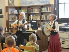 7/31 Irish Jig (DeKalb Public Library) Tags: music irish celtic folkmusic smallpotatoes irishjig jacquiemanning richprezioso