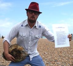 IMG_2370crop (Jasmine Bendell) Tags: sea beach stone brighton skimming