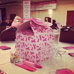 Making Strides for Breast Cancer Kick-Off Breakfast! GO TEAM LORI ANN!!! (hellomissniki) Tags: square squareformat amaro iphoneography instagramapp uploaded:by=instagram foursquare:venue=4ae11c7ef964a520488521e3