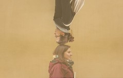 Balancing act (gius.) Tags: original strange smile yellow friendship verona valentina contrario