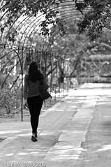 Sola con mis pensamientos (luisephoto) Tags: madrid street espaa europa gente retratos robados jardnbontnico
