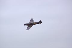 BBMF Spitfire P7350 (Mk IIa) (Chris McLoughlin) Tags: aircraft spitfire raf a77 bbmf chrismcloughlin sherburnaeroclub spitfirep7350 sonydt55200mm sonyslta77