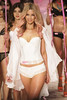 Jennifer Hawkins models on the catwalk for Bendon lingerie on Day One of Mercedes-Benz Fashion Festival Sydney, Australia
