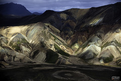 LANDMANNALAUGAR (euskadi 69) Tags: mountains colors couleurs south rhyolite sud islande montagnes massif rhyolit landmannalaugararea panoramafotogrfico mygearandme mygearandmepremium blinkagain iceland2012