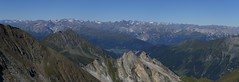 Wipptal-Stubaital-Panorama (bookhouse boy) Tags: mountains alps tirol berge alpen tyrol 2012 hintertux tuxertal kaserer frauenwand kasererschartl sommerbergalm kleinerkaserer weisewand 19august2012