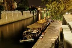Paris sur les bords de Notre-Dame