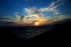 Isle of Wight Sunset (Lily Mendes da Costa Photography) Tags: sunset sea sky clouds canon eos isle campsite wight 600d