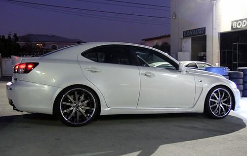 20 inch Roderick RW3 wheels on Lexus ISF wheelpal com - a