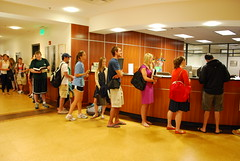 Sweet Carrel Line (William & Mary Law School) Tags: williamandmary neildiamond lawstudents lawlibrary carrels