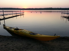 (obrazu) Tags: lake sunrise kayak paddle kayaking oconomowoc wi necky looksha delafield uppernemahbin