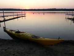 (obrazu) Tags: lake sunrise kayak paddle kayaking oconomowoc wi necky looksha delafield uppernemahbin