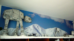 "Battle of Hoth diorama - imperial AT-AT approaching Echo base • <a style=""font-size:0.8em;"" href=""http://www.flickr.com/photos/86825788@N06/7949269212/"" target=""_blank"">View on Flickr</a>"