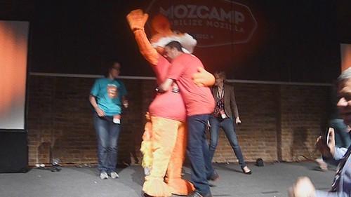 Achraf dance with Firefox !