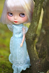 Aw, Doyle looks like a princess