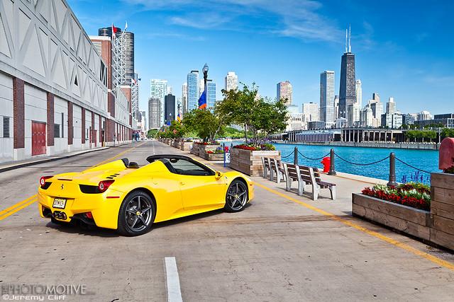 city cliff chicago yellow magazine official downtown italia jeremy ferrari 458 jeremycliff photomotive thephotomotivecom photomotivecom jeremycliffcom theofficialferrarimagazine ferrarinorthamerica