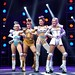 Starlight Express - Ruthie Stephens as Dinah, Kelsey Cobban as Duvay, Amanda Coutts as Pearl - credit Eric Richmond