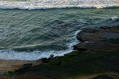 Rock Shelf (Paul Hollins) Tags: ocean seascape rocks waves outdoor australia newsouthwales aus barbeach nikond750