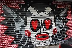 Kashink_6998 rue Basfroi Paris 11 (meuh1246) Tags: streetart paris kashink ruebasfroi paris11 rideaumtallique arme