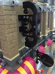 Building #9 WIP. #Lego #Modular #Build (a-corb) Tags: moc legobuilding legomodulars 9 lego modular build