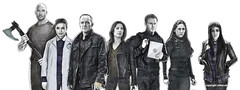 Agents of Shield by Sketchaprint (xraystu) Tags: agents shield agent coulson may fitzsimmons mack yoyo marvel television
