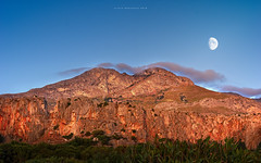 Moon on sunset (nicol parasole) Tags: pentax k3 da18135 sicily travel landscape sanvitolocapo trapani macari elbahira nicopara71 nphotography nicolparasole