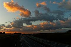 Road III (Metalhund) Tags: holbk denmark goldenlight sunset night road