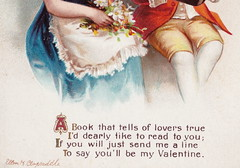 """ELLEN CLAPSADDLE CUPID ANGELS PASSION CUTE VALENTINE KIDS A book that tells of Lovers TRUE - LOVE IS IN THE AIR International Art Card Series No 46573 (UpNorth Memories - Donald (Don) Harrison) Tags: vintage antique postcard rppc """"don harrison"""" """"upnorth memories"""" upnorth memories upnorthmemories michigan history heritage travel tourism """"michigan roadside restaurants cafes motels hotels """"tourist stops"""" """"travel trailer parks"""" campgrounds cottages cabins """"roadside entertainment"""" """"natural wonders"""" attractions usa puremichigan"""