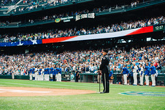National Anthem. (poopoorama) Tags: dannyngan dannynganphotography garrisontitan mariners nikoncorporation nikond600 safecofield starwars starwarsday starwarsweekend seattle washington unitedstates