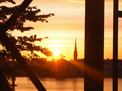 Hermans 28 (Helen White Photography) Tags: hermans restaurant vegetarian stockholm terraced gardens view sunset summer