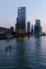 Rotterdam: Wilhelminapier at dusk (jmtennapel) Tags: architecture architectuur avond bluehour canon6d city cityscape dusk evening kopvanzuid rotterdam sigma50mmf14dghsm stad stadsgezicht sunset wilhelminapier zuidholland netherlandsthe nl