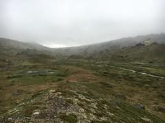 Krkevagge valley in mist, North Lapland (Madde Elg) Tags: krkevagge geargevaggi gearggevaggi lapland lappland abisko lktatjkka mountainvalley fjlldal rockformation stenformation rock sten mist dimma