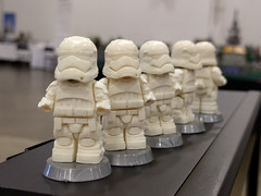 First Order Stormtrooper Casts (AndrewVxtc) Tags: lego star wars custom episode 7 force awakens first order stormtrooper resin cast andrewvxtc