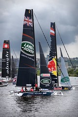 Extreme Sailing Series - Cardiff 2016 (BitRogue) Tags: nikon d800 sigma 150600mm capturenx2 extreme sailing cardiff 2016 sail yacht wales water land rover sport yachting outdoor red bull