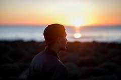 (Cthe) Tags: sunset sundown lofoten norway beach norwegen strand meer sea silhouette