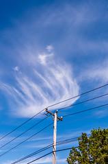 Discharge (johnjmurphyiii) Tags: 06457 atkinsstreet clouds connecticut middletown originalnef sky summer tamron18270 usa cirrus johnjmurphyiii cloudsstormssunsetssunrises cloudscape weather nature cloud watching photography photographic photos day theme light dramatic outdoor color colour