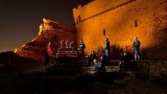 MASS' birthday (palateth) Tags: lightpainting lightart night france south orange portrait lightspirit birthday mass