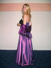Classy girl (Paula Satijn) Tags: girl lady young beauty gorgeous blond blonde purple dress gown elegance cute adorable hair feminine girly skirt lace shiny satin silk