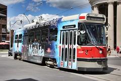 TTC 4069_0444 (Stephen Wilcox - Jetwashphotos.com) Tags: ttc streetcar 4069 matildamusicalcs special broadview king505 toronto ontario wp transportation flickr jetwashphotos photograph photography transport travel image transit train rail tram city street streetscape urban