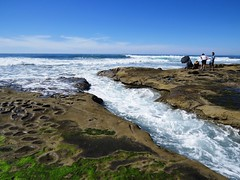 Where the earth meets the sea (moonjazz) Tags: tidepool pacificocean nature california canon photography tides sandiego lajolla explore geology hiking sea