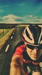 Throwback to the summer of 2016! (KTv) Tags: fotosndag fs160828 sommarnje cykling bike summer road sky clouds horisont horizon skne sweden sommarnoje