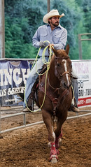 handsome cowboy (KClarkPhotography) Tags: texas rodeo tejas bulverde country western west kclarkwest cowboy roper