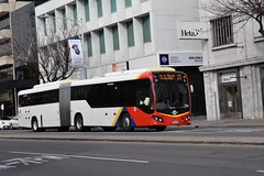 R808-Adelaide-27_08_16 (Lt. Commander Data) Tags: r808 r 808 scania k360ua custom coaches cb80 adelaide metro bus j3 j 3 airport j1 1 j2 2 163 162 cbd currie street light square saturday august 2016 winter torrens tranist