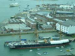 HMS Warrior (alanaplin) Tags: hmswarrior spinnakertower
