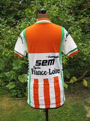 SEM  France Loire (akimbo71) Tags: maglia maillot jersey fahrradtrikot cycling cyclisme proteam equipe