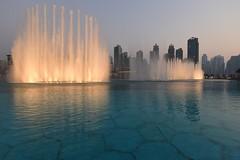 The Dubai Fountain, Dubai, August 2016, D810 2324 (tango-) Tags: dubai emirates mall fountain
