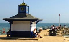 Swanage, Dorset, England (east med wanderer) Tags: england uk dorset swanage coast sea shelter seaside pier sunshine