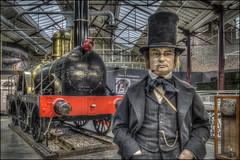 Swindon Steam Museum 3 (Darwinsgift) Tags: swindon steam museum great western railway victorian isambard kingdom brunel waxwork hdr photomatix 28mm f28 voigtlander color skopar nikon d810 sl 2