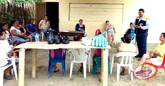 Inauguracin de taller de arreglos para el hogar en el sitio La Rucha (gadmunicipalchoneportadas) Tags: inauguracin taller arreglos hogar sirio larucha